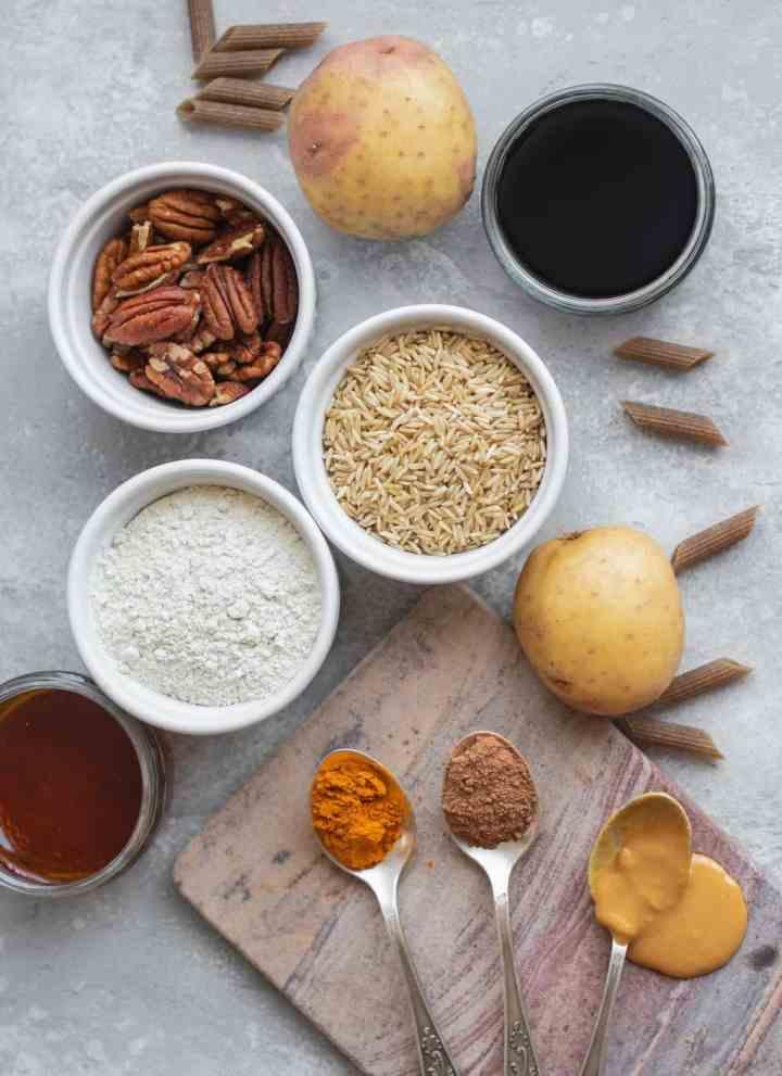 My Top 10 Gluten-free Vegan Pantry Staples