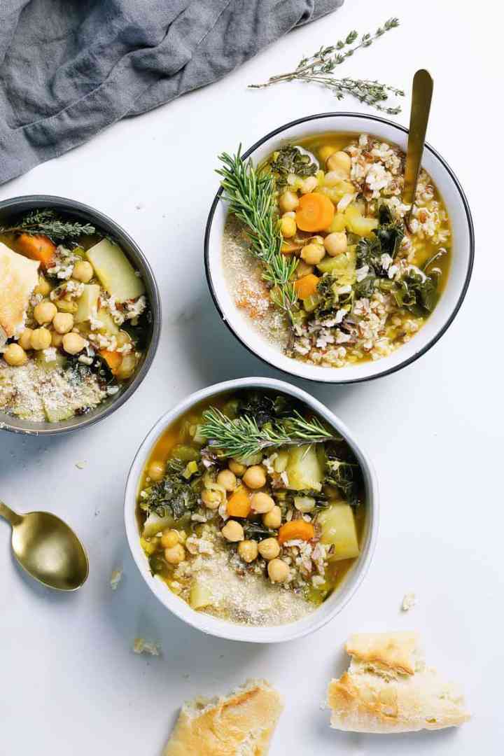 Chunky Chickpea Soup