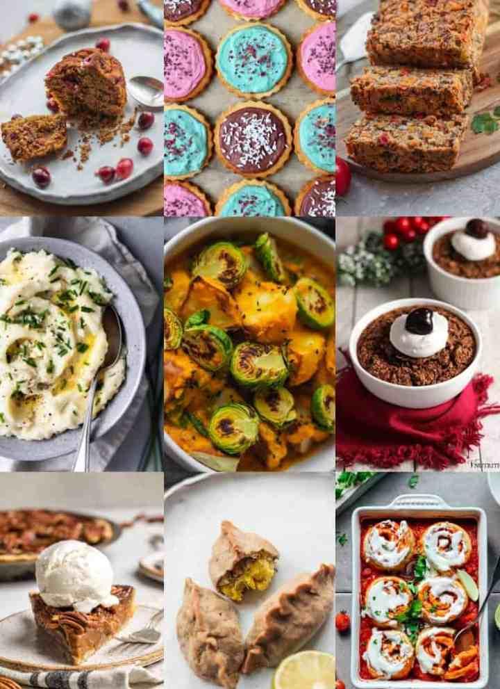 40+ Gluten-free Vegan Christmas Recipes