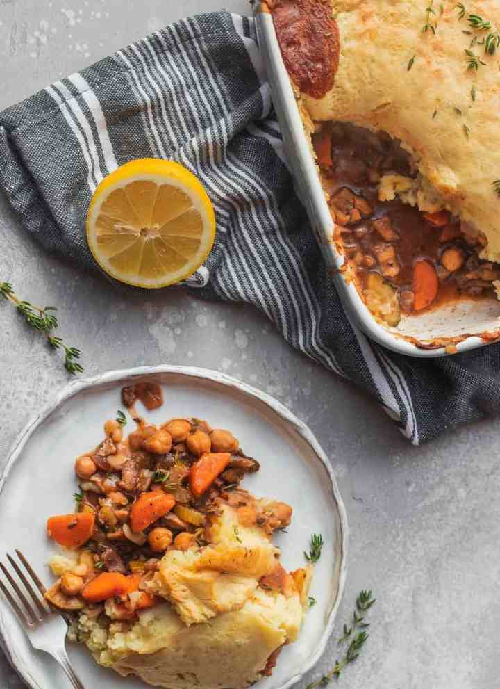 Chickpea Shepherd's Pie
