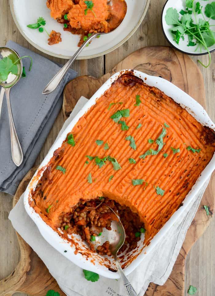 Family favourite vegan Shepherd's pie Fit Foodie Nutter