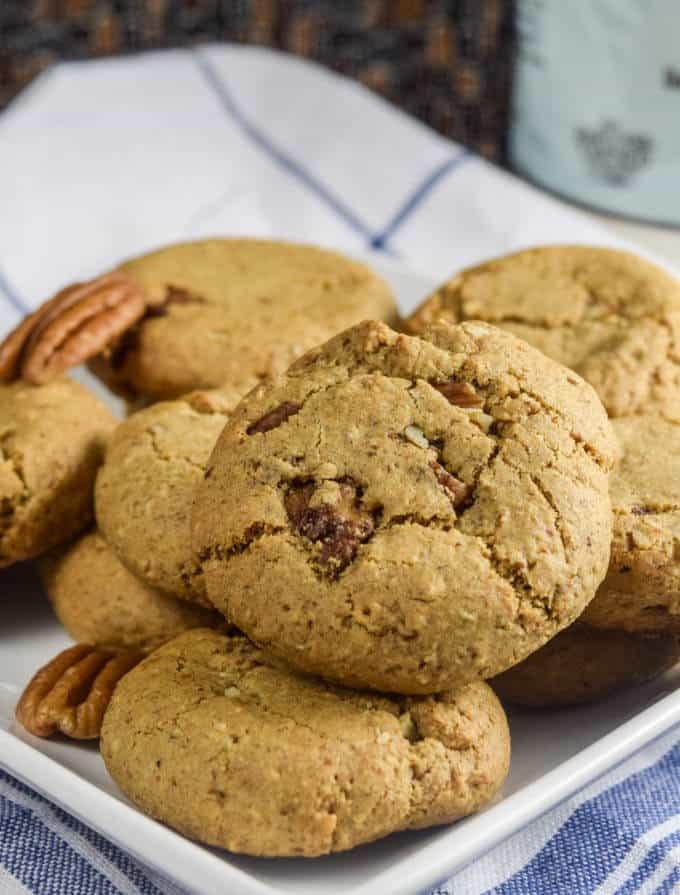 Maple pecan cookies Yup, It's Vegan!