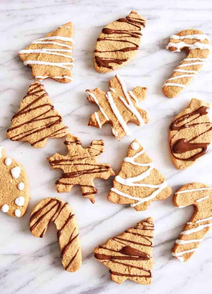 Vegan Christmas sugar cookies Beaming Banana