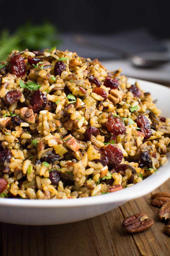 Wild rice stuffing Where You Get Your Protein
