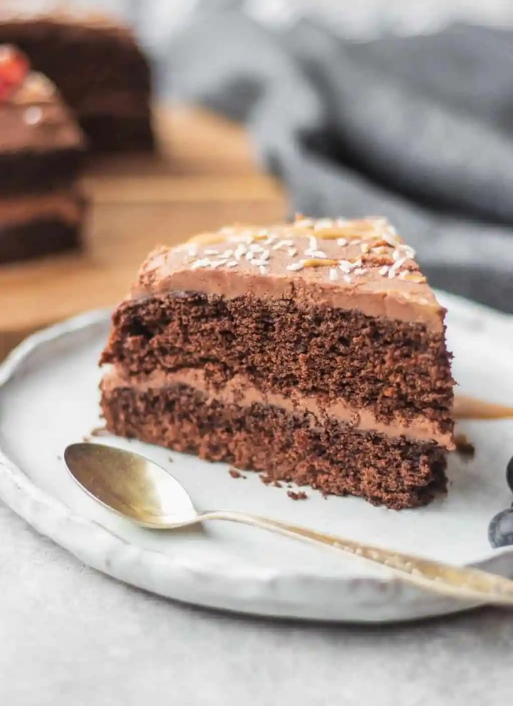 Easy Gluten-free Vegan Chocolate Cake