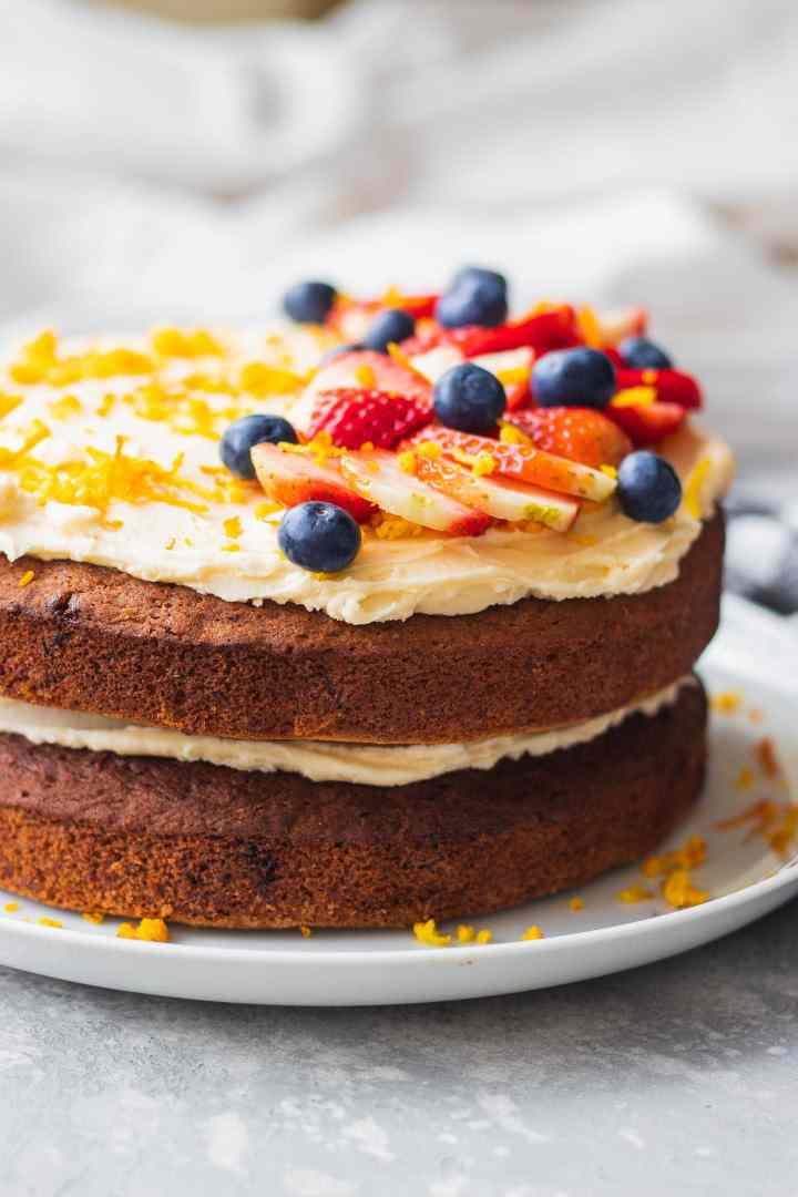 Vegan carrot cake gluten-free