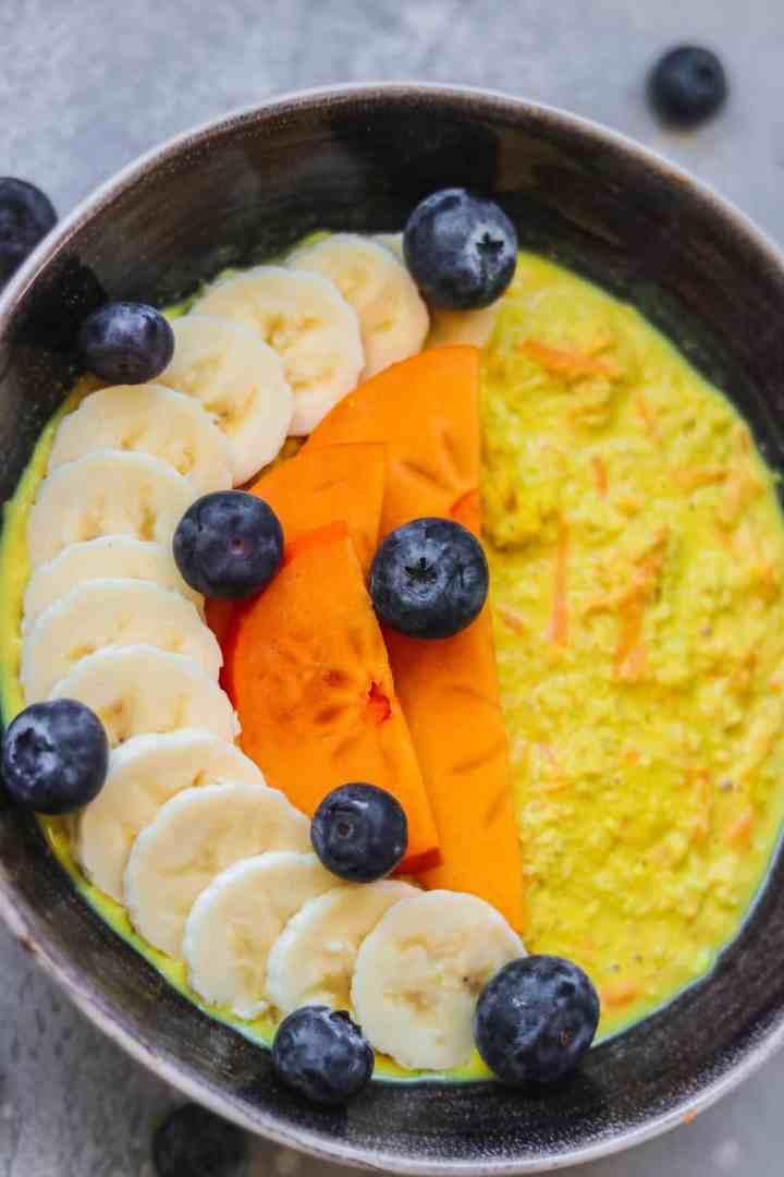 Vegan carrot cake oats gluten-free