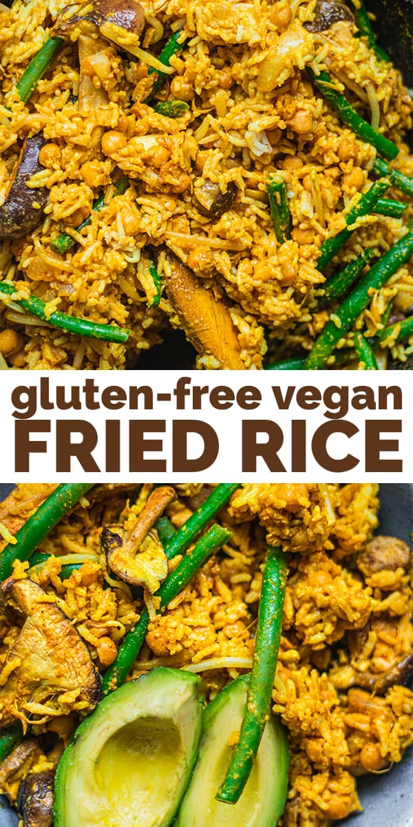 Gluten-free vegan fried rice