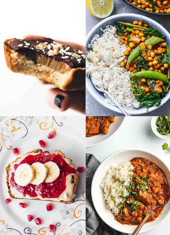Recipes for veganuary