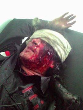 Police Apparatuses Brutality in Karawang 01