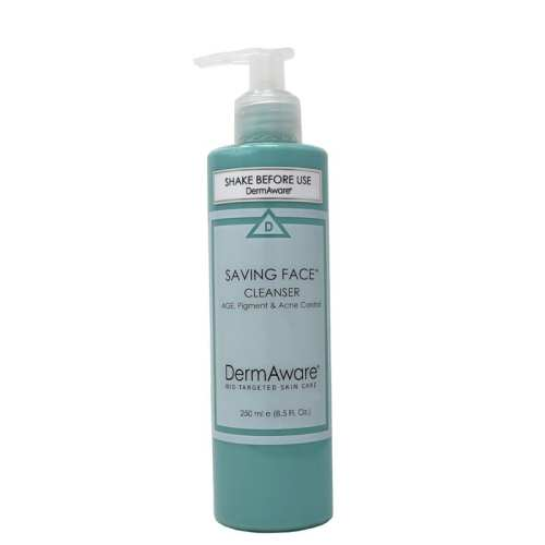 saving face cleanser dermaware