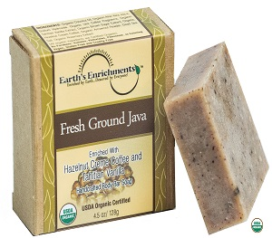 Organic Certified Soap (USDA) - Vanilla Java