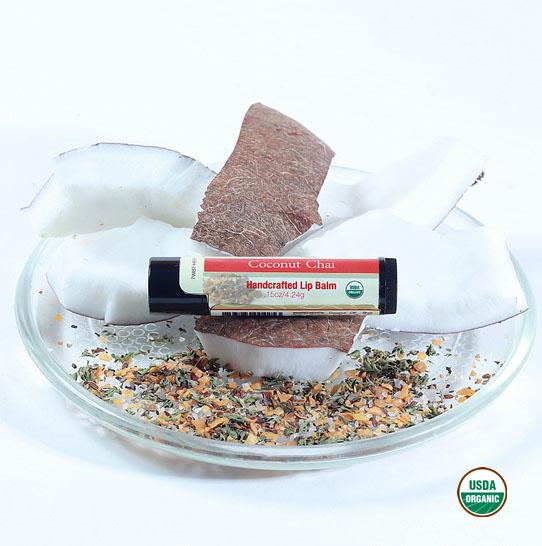 Lip Balm (USDA Organic) - Coconut Chai