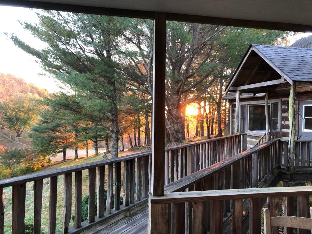 Earthshine Lodge Entrance
