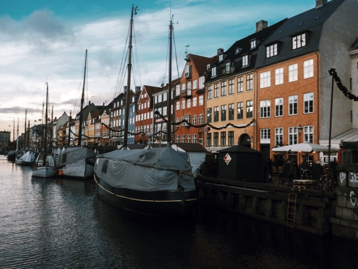 winter in Copenhagen - Nyhavn