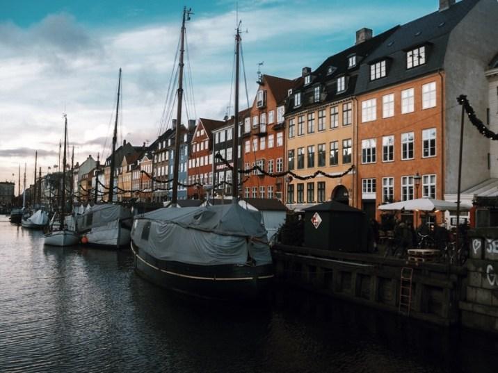 winter in Copenhagen - Nyhavn