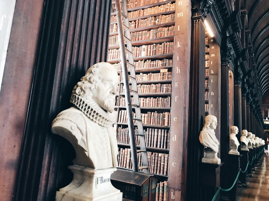 Trinity College Library - what to do in dublin for a day