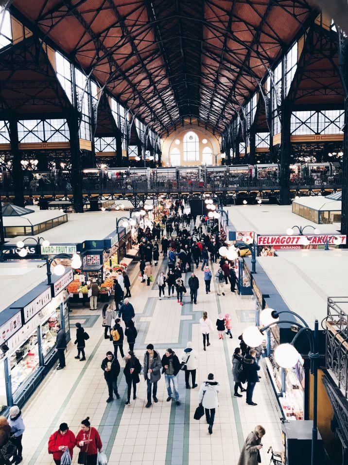 central market hall, visit budapest