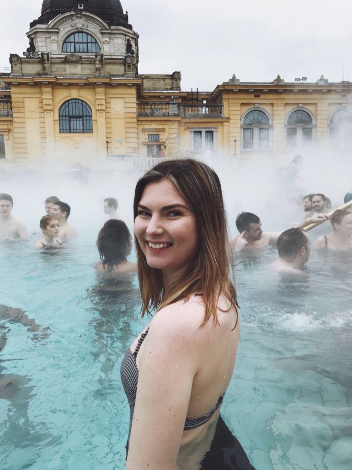 visit budapest - Széchenyi thermal baths