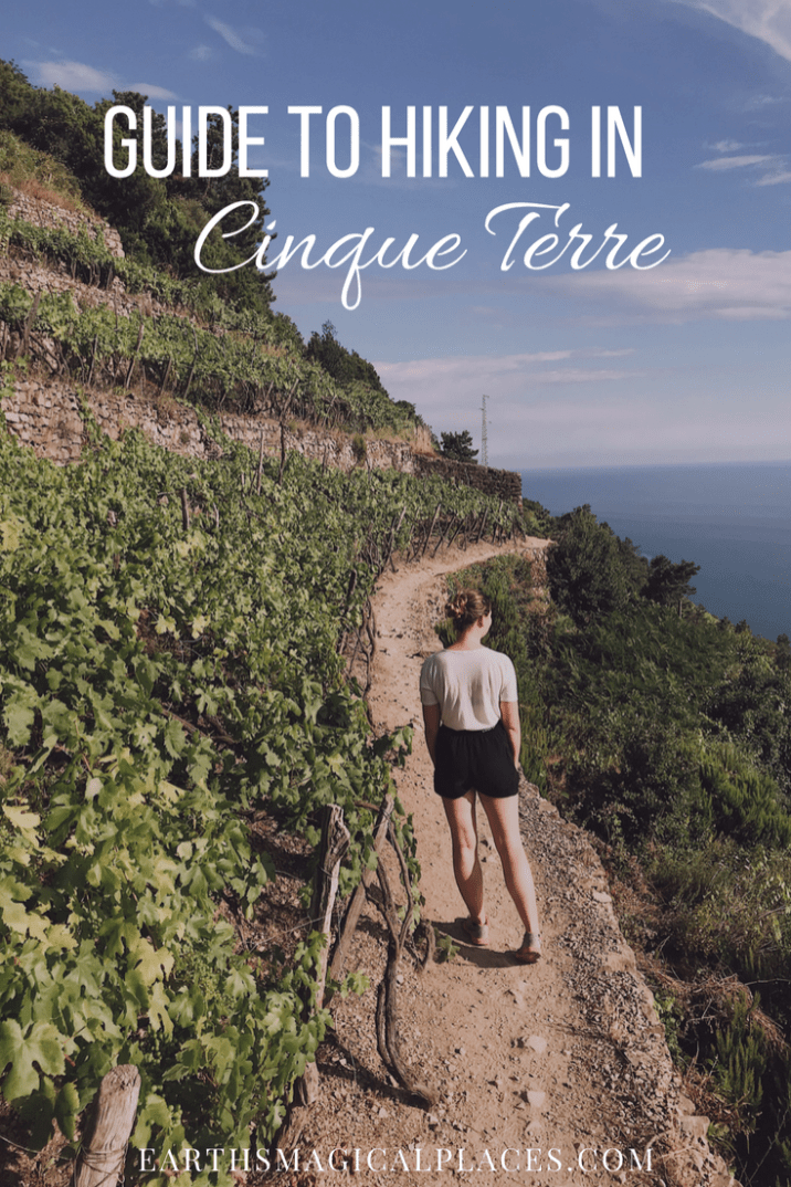Hiking when in Cinque Terre Italy is a must! Click for all the information you need to enjoy the hike... #CinqueTerre #Hike #Thingstodo #Italy