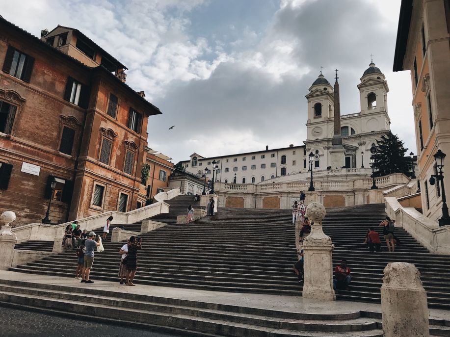 Week in Rome, Spanish steps