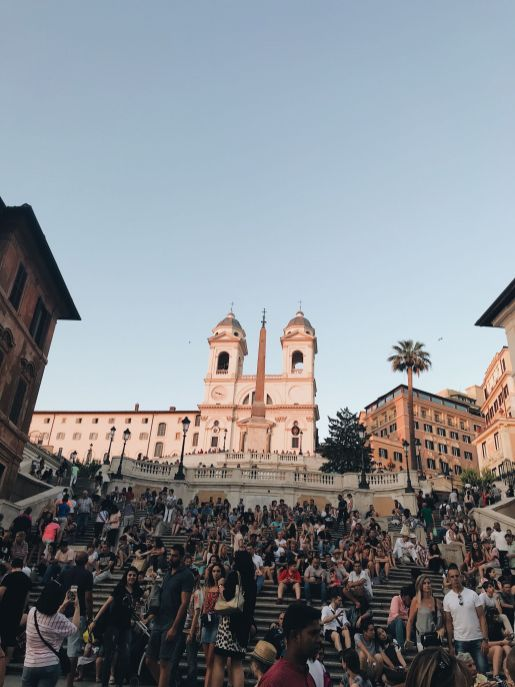 Rome attractions spanish steps