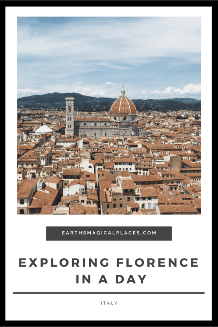 Visiting Florence Italy? Here are the top things to do in Florence in one day, Including what you must see! #Travel #Florence #Italy
