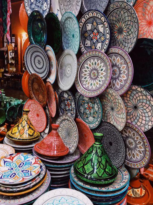 Marrakech Medina Souks (Morocco Vacation)