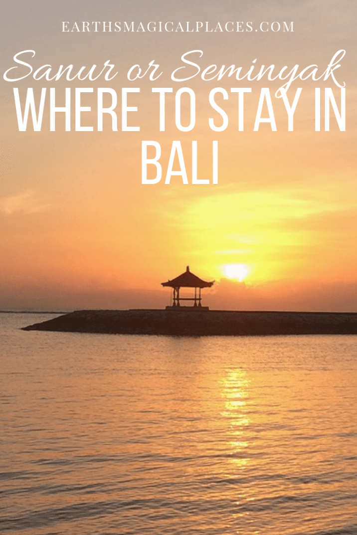 This post is your guide to the things do in Sanur and Seminyak Bali (Indonesia). From the best beach destinations to other things you'll love in Sanur or Seminyak such as the best restaurant, food and accomadtion choices. #Bali #Seminyak #Sanur #Indonesia #beach #accomadtion #thingstodo