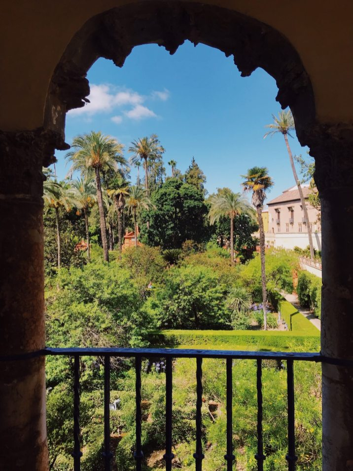 Real Alcazar Gardens three days in Seville