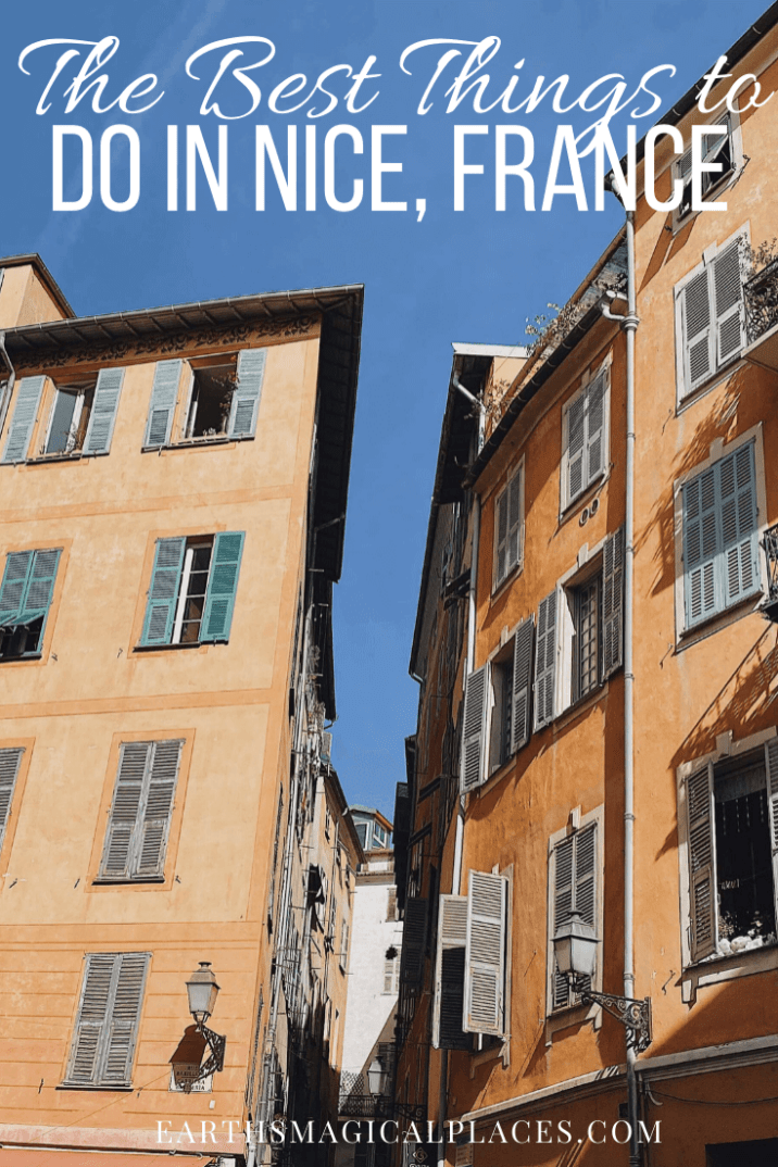 All the best things to do in Nice France when you travel to the French Riviera. Including winter tips and everything you need to include on your Bucket lists such as the old town and the beach! #France #Nice #Travel #FrenchRiviera #Thingstodo