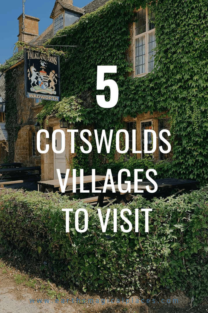 Your guide to the top 5 prettiest villages in the Cotswolds! Including the stunning Cotswolds Villages of: Upper and Lower Slaughter, Great Tew, Burton on the Water and Burford.... Click to learn more about these best villages in the Cotswolds. #England #TravelGuide #UKTravel #Cotswolds