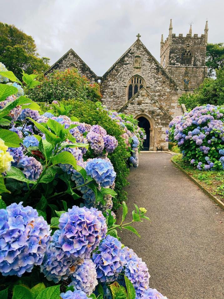 Cornwall Itinerary Veryan