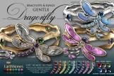 Dragonfly Bracelets & Rings Gentle
