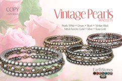 Vintage Pearls Bracelets