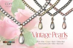 Vintage Pearls Necklaces