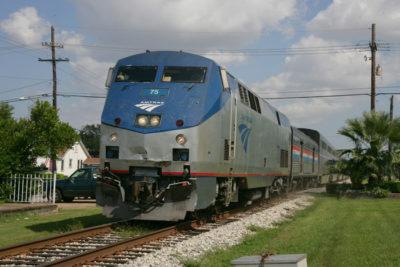 Amtrak Credit: Emmett Tullos