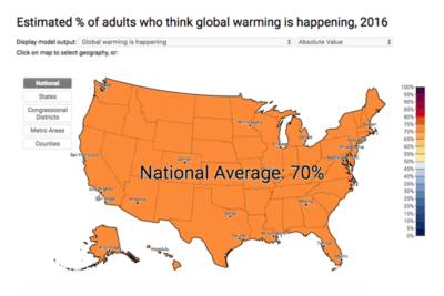 avg 400x267 Climate Change: Does Your Congressperson Represent Your Views?