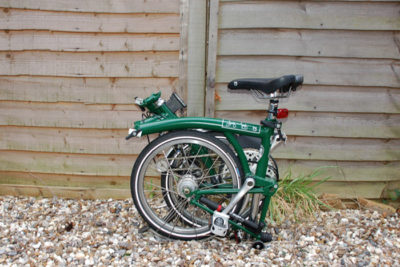 brompton folding bike 400x267 Solving Transits Last Mile Problem