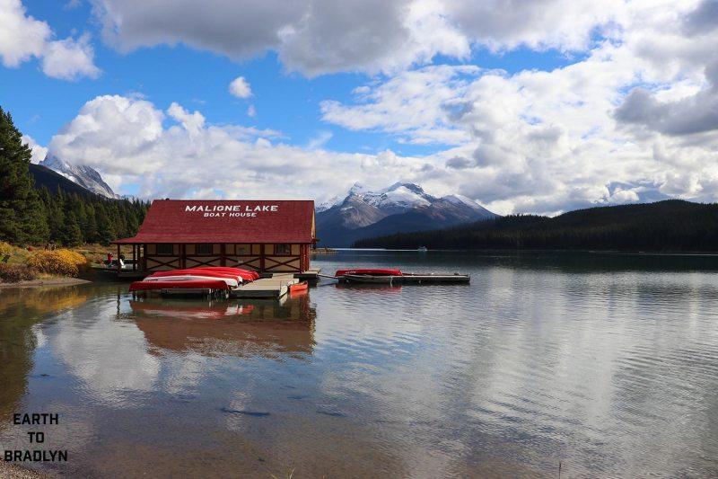 Maligne Lake!