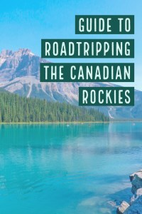 The best road trip in Canada! See the Icefields Parkway in the Canadian Rocky Mountains!