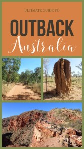 Guide to Outback Australia