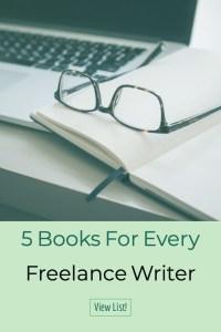 Books for Freelancing! Books for freelance writing!