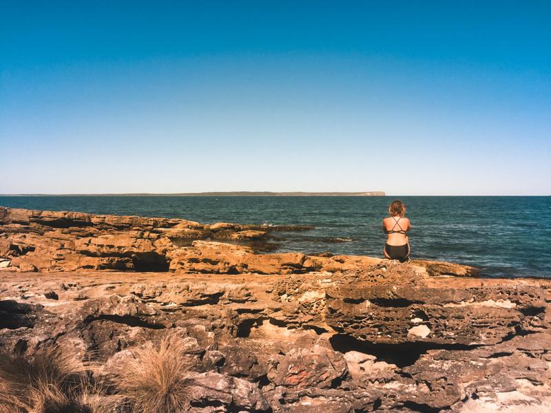Rocks by Hyams Beach! Ultimate view!