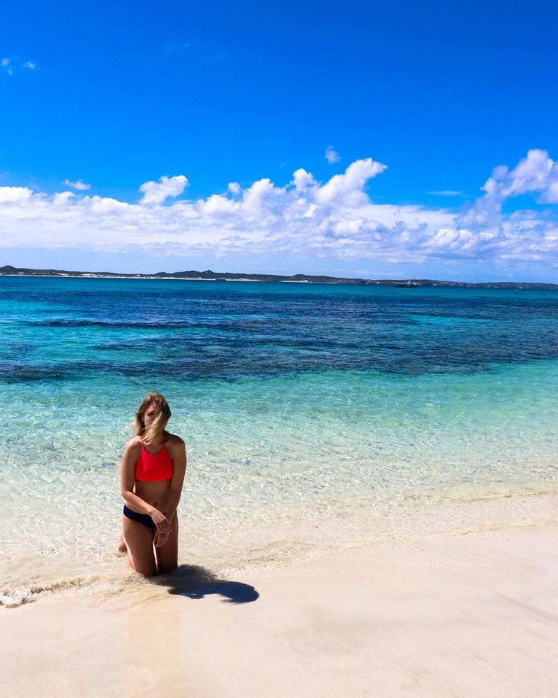 Viviane Bay on the Wonderful Kangaroo Island - White Sand