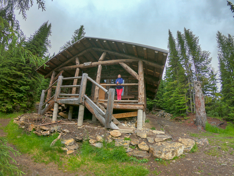 The Shelter at Berg Lake!