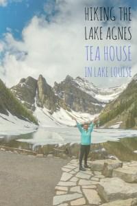 Explore the Lake Agnes Tea House Hike in Lake Louise Canada! Hiking in Canada at Lake Louise!