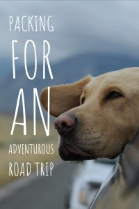 Packing for an adventurous road trip. Road trip packing list. Road tripping around the world.