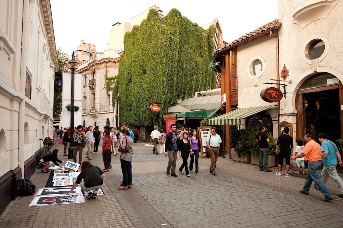 Barrio-Lastarria Santiago Chile