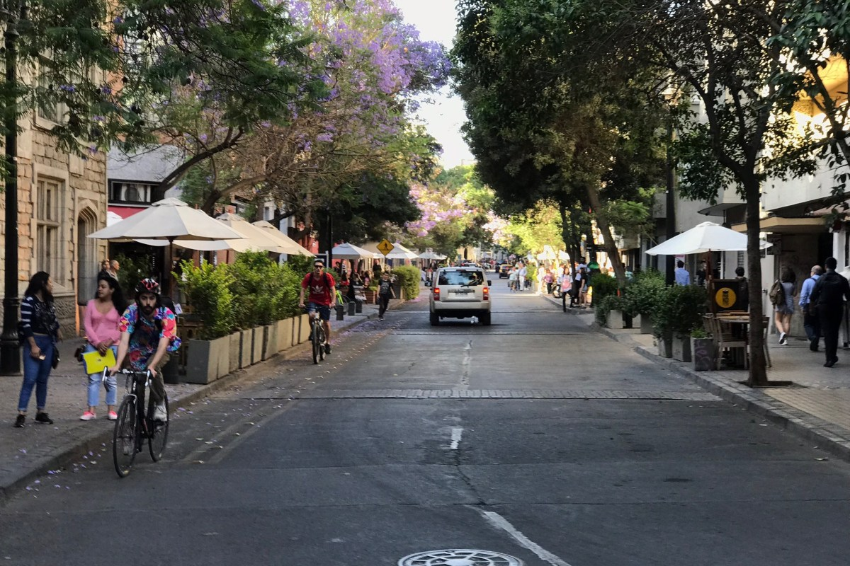 streets of Santiago, Chile